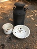 Box Lot/Metal Milk Can, ETC (Local Pick Up Only)