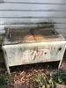 Old 7UP Double Lidded Metal Cooler (Local Pick Up Only)