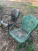 (2) Old Metal Chairs (Local Pick Up Only)