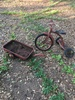 Lot of Metal Tricycle & Wagon (Local Pick Up Only)