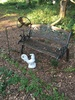 Lot of Old Bench, Sheppard Hook, Dragon Fly, Rooster (Local Pick Up Only)