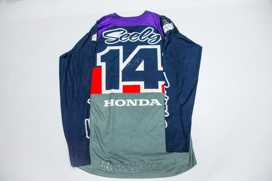 14 Cole Seely - Signed Race Jersey