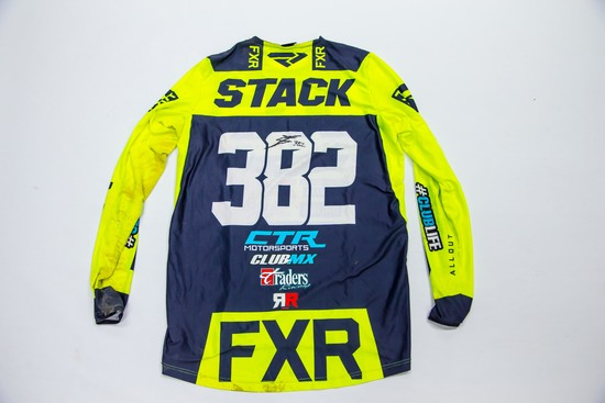 382 Tanner Stack - Signed Race Jersey