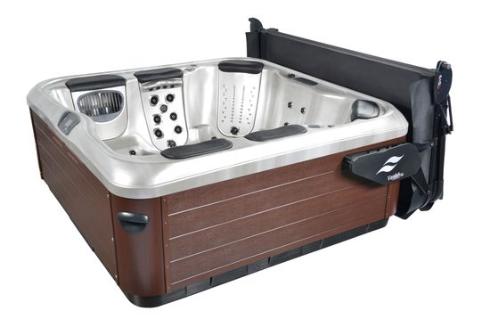 Custom SmarTop Concepts Bullfrog Spas Hot tub and cover