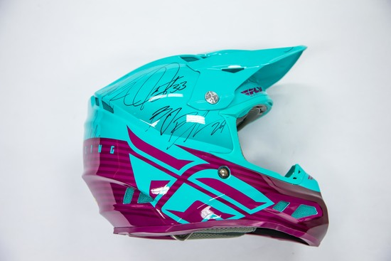 Autographed All-Star Fly Racing Helmet