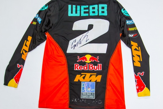 2 Cooper Webb - 1 of 3 Signed Race Jersey