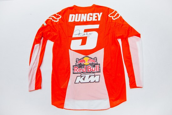5 Ryan Dungey Signed Race Jersey