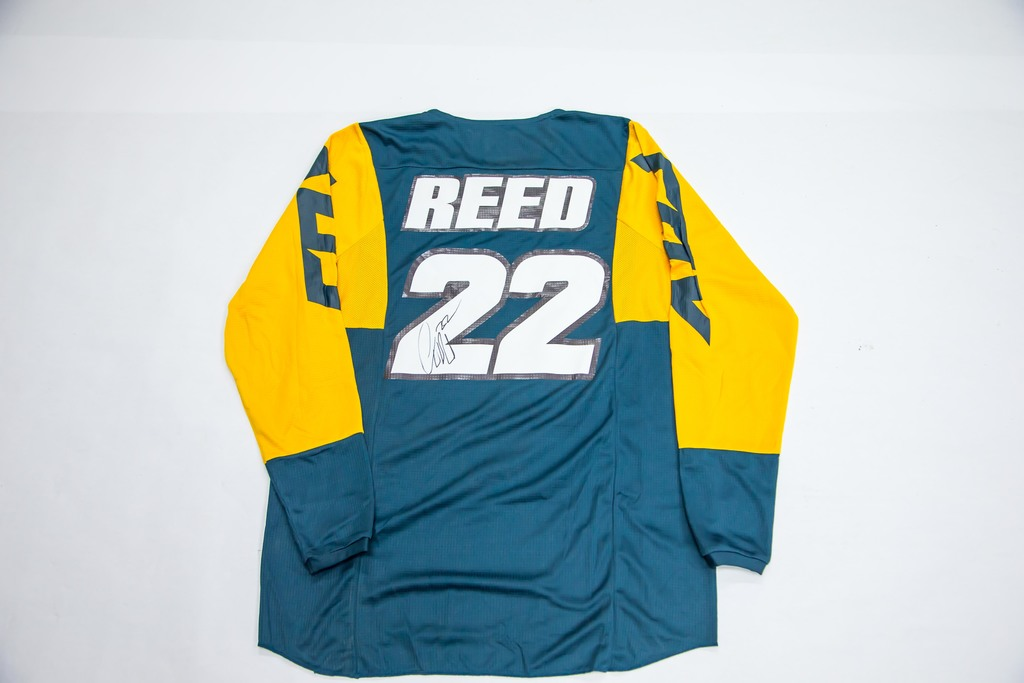 22 Chad Reed - Signed Jersey | Benefit & Charity Items for Benefit ...
