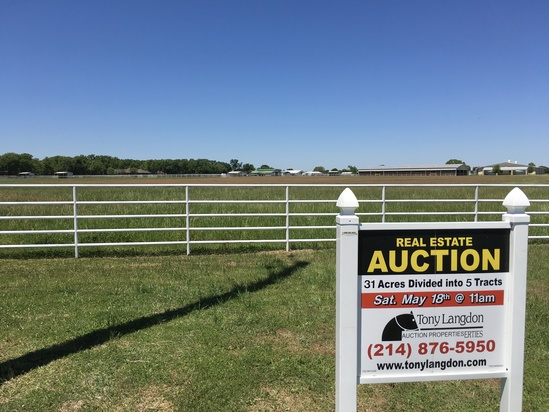 31 Acre Ranch divided in 5 Tracts in Horse Country