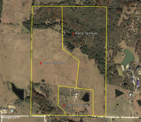 Life Estate Dispersal of 128ac North Texas Ranch