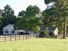 Tract 1: 10.2 acres with Main House and Guest House among mature trees and lush pastures
