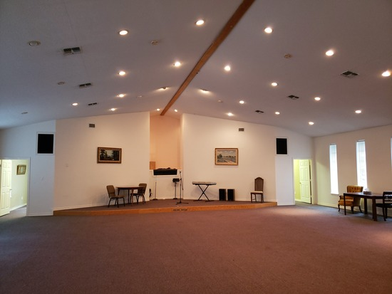 Former Church also used for meetings, weddings and funerals with an attached 3 Bedroom Apartment