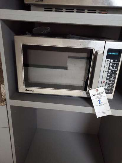 Amana 120 Volt Commercial Microwave Oven