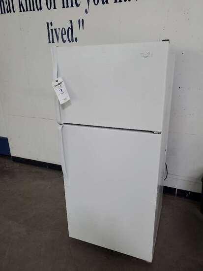 Whirlpool 120 Volt Refrigerator/ Freezer