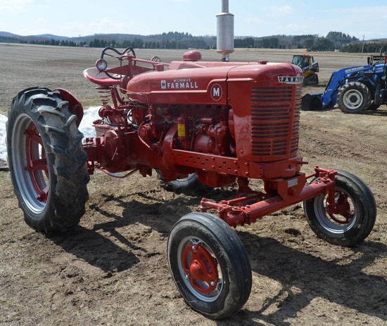 "Farmall ""M"" - Not Running"