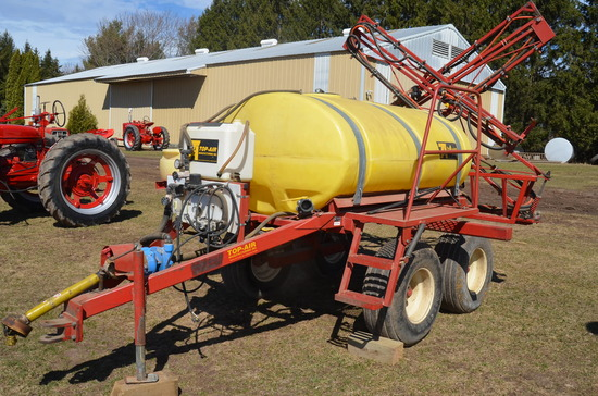 Top-Air 500 Gallon Field Sprayer