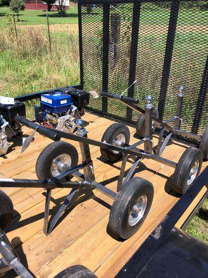 ADJUSTABLE TRAILER DOLLY 700LB CAPACITY