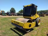 2017 BO MAG BW177D COMPACTOR, S/N 101586491324, 66'' SMOOTH DRUM, ECAB, A/C, HEAT, 14.9-24 R3 TIRES,