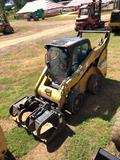 CAT 262C TWO SPD SKID STEER, S/N CAT0262CCMST04981, AIRLESS TIRES, ECAB, 7538.2 MTR HRS