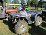 POLARIS SPORTMAN 700 TWIN 4X4 ATV, S/N 4XACH68A84A057831, WARN WINCH