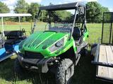 2012 KAWASAKI TERYX 750LE 4X4 ATV, S/N JKARFDV19CB501D82, OROPS, MANUAL DUMP BED