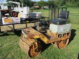 DOUBLE DRUM COMPACTOR, 32'' SMOOTH DRUMS, PREDATOR 212CC ENG