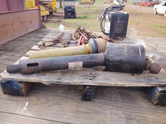 2 PTO 1/2 SHAFTS, TRACTOR 1/2