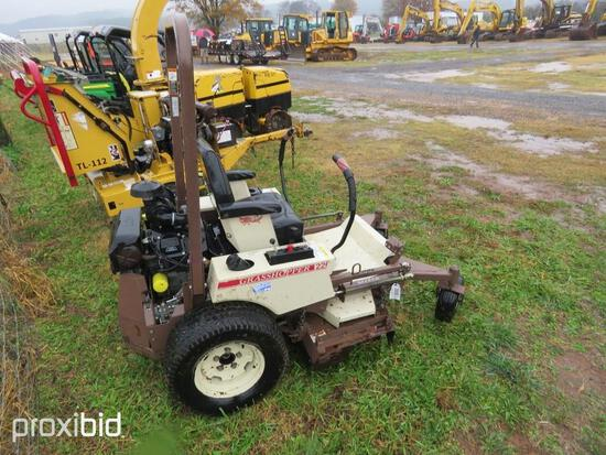 GRASSHOPPER MPOWER 220 ZERO TURN MOWER, GAS MOTOR, S/N 5916468