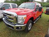 2014 Ford F-350 Pickup Truck, VIN # 1FT8W3BT6EEB41790