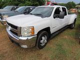 2008 Chevrolet Silverado DUALLY 4X4 Pickup Truck, VIN # 1GCJK33678F118751