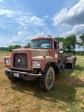 1989 Mack RD690S ROLL OFF Truck, VIN # 1M2P179C0KW005051