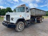 1987 Mack DM685S ROLLOFF Truck, VIN # 1M2B120C4HA059985
