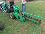 2015 DITCH WITCH WALK BEHIND TRENCHER