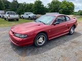 1998 Ford Mustang Passenger Car, VIN # 1FAFP4041WF127352