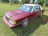 1986 Chrysler Lebaron Passenger Car, VIN # 1C3BC55EXGG288620