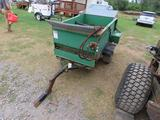 EARTH AND TURF MODEL 300 PULL TYPE DRESSER