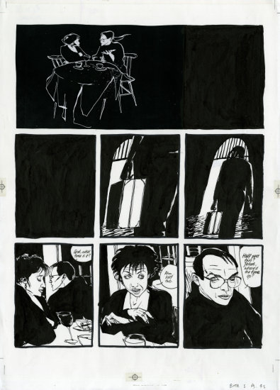 DAVE McKEAN - 'CAGES', BOOK 4, PAGE 45