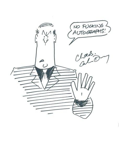 GRAHAM DURY - ROGER MELLIE 'NO FUCKING AUTOGRAPHS' | Art, Antiques &  Collectibles Collectibles Comics | Auctions Online | Proxibid