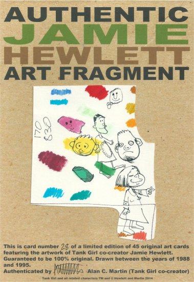 JAMIE HEWLETT - ART FRAGMENT