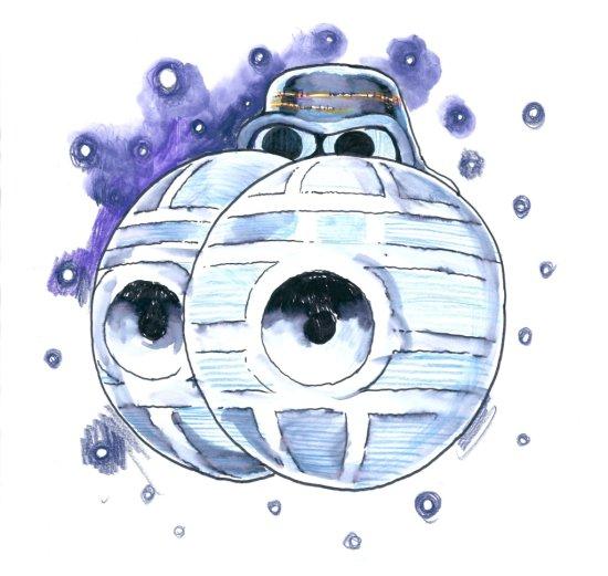 STEVE BELL - GEORGE OSBORNE IN SPACE