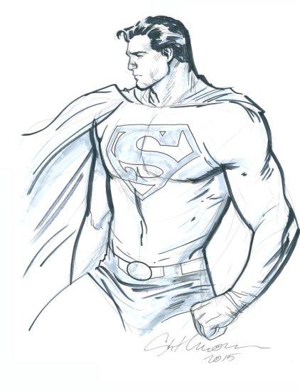 STUART IMMONEN - SUPERMAN