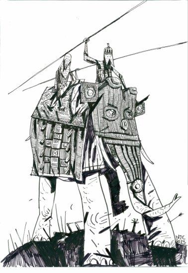 WARWICK JOHNSON-CADWELL - WAR ELEPHANT
