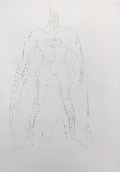Mick McMahon draws Batman