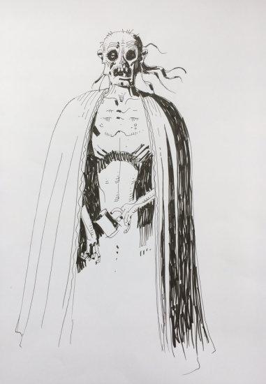 Mick McMahon draws Zombie