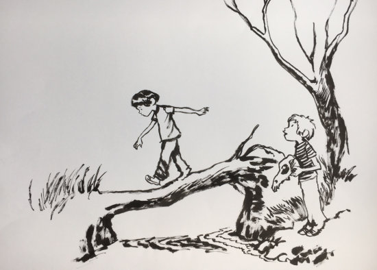 Craig Thompson Drawing 1