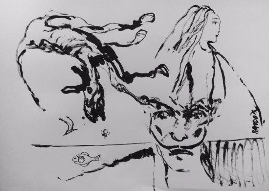 Edmond Baudoin reimagines Dali