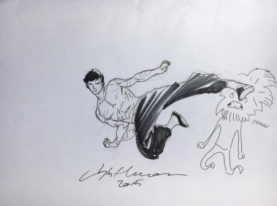 Stuart Immonen Drawing 1