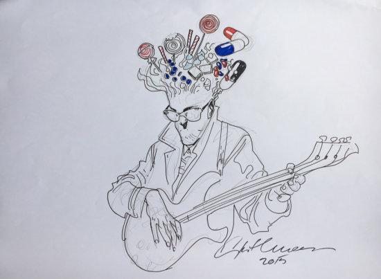 Stuart Immonen Drawing 2