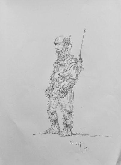 Ian McQue Drawing 1