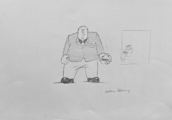 Viz - Roger Mellie does Kingpin by Graham Dury